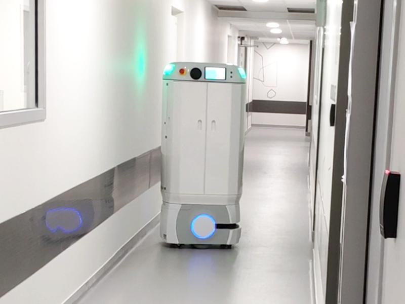 MEDILOG, robot mobile collaboratif dédié aux établissements de santé