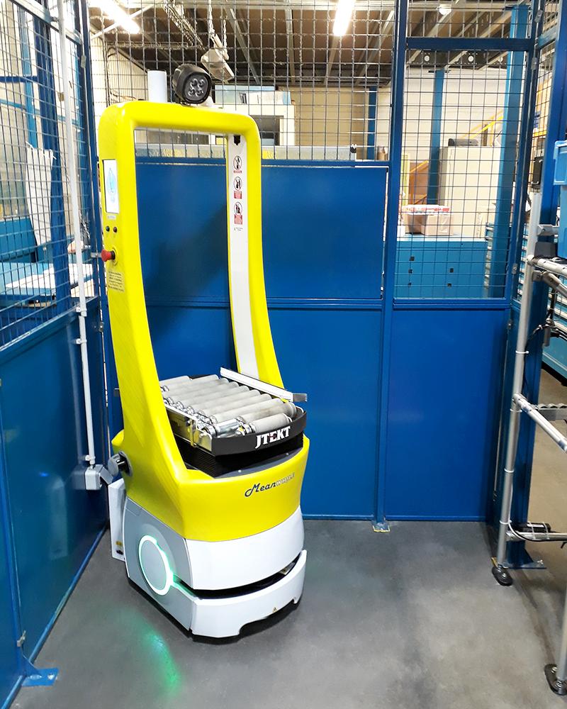 AGILOG-robot mobile collaboratif