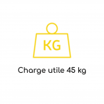 Charge utile 45kg