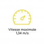 Vitesse maximale LD 90RG