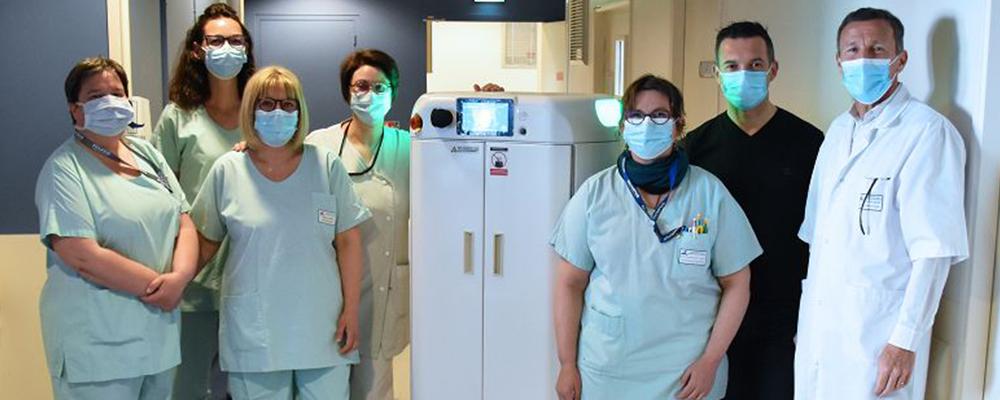 Read more about the article Cas CHU Nantes : La robotique mobile autonome au service de la logistique hospitalière