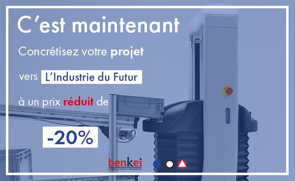 Read more about the article Comment profiter de -20% sur votre projet Industrie du Futur ?