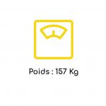 Poids LD90 RG